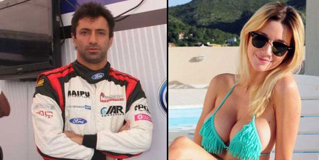 La revista Caras afirma que Micaela Breque abandonó a Calamaro y sale con un piloto