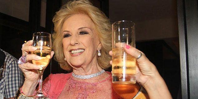Mirtha Legrand festejó su cumpleaños con una emotiva sorpresa