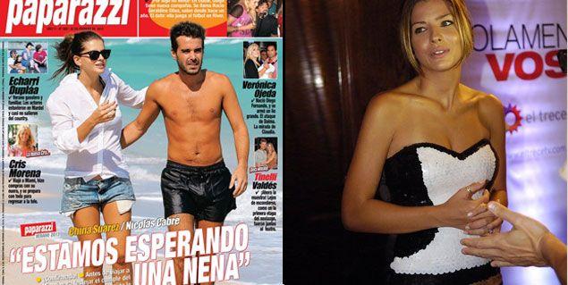 Primicia confirmada: Eugenia Suárez y Nicolás Cabré tendrán una nena