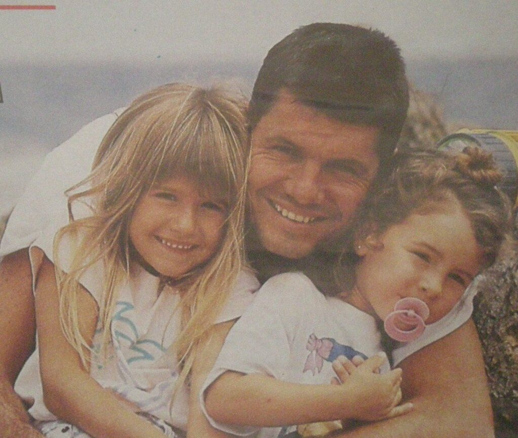El emotivo álbum de fotos de la familia Tinelli