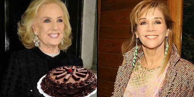 Marcela Tinayre no estará presente en el cumpleaños de Mirtha Legrand