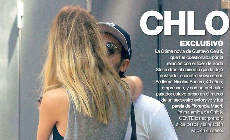 Chloé Bello, la ex de Gustavo Cerati, tiene un nuevo novio