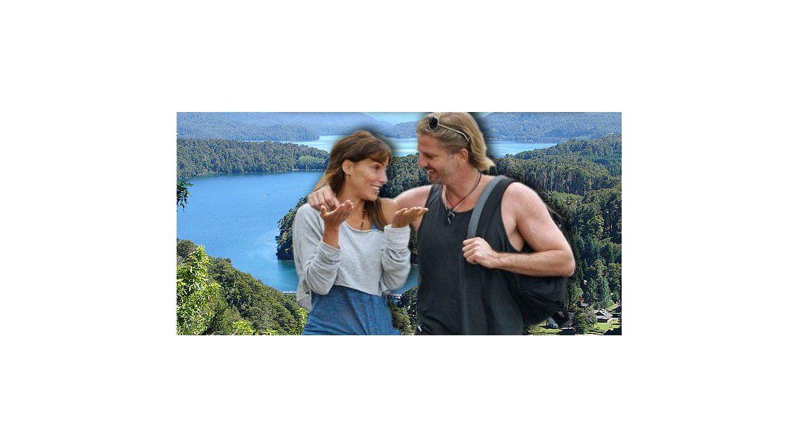 Las vacaciones soñadas de Facundo Arana y María Susini en el sur argentino