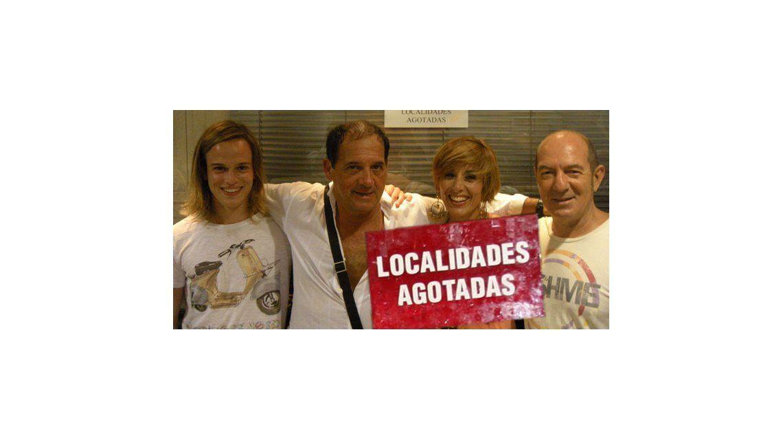 Julio Chávez y un éxito teatral: agotó localidades