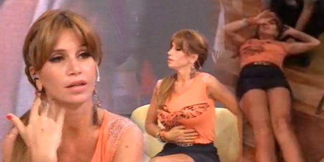 El terrible desmayo de Florencia Peña al aire de Dale la tarde