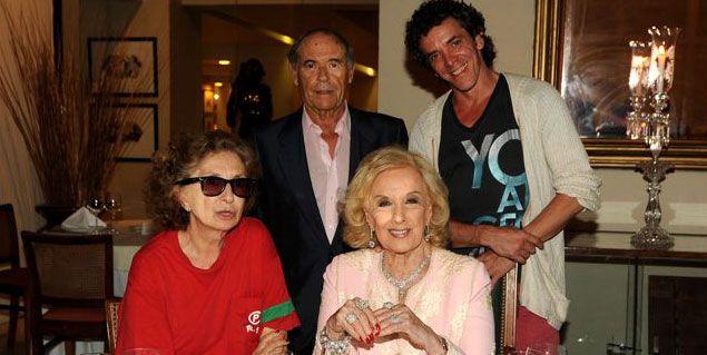 Homenajearon a Mirtha Legrand en Mar del Plata
