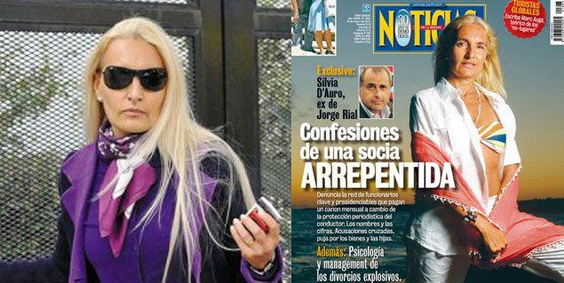 La polémica tapa de la revista Noticias, con Silvia D´Auro, que enfureció a Jorge Rial