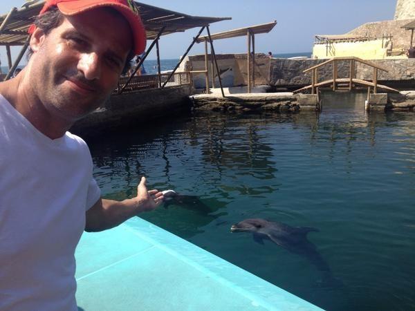 Las increíbles vacaciones de José María Listorti en Colombia