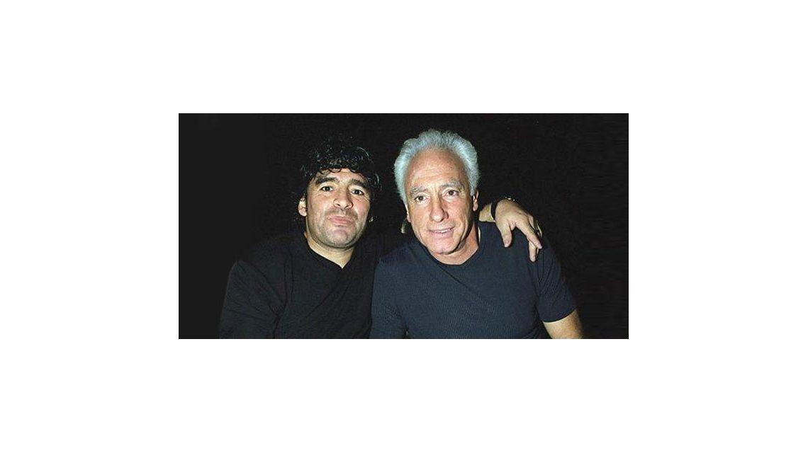 Escándalo: Diego Maradona, furioso contra Guillermo Coppola y un canal de cable