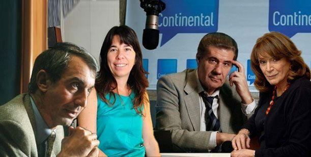 Radio Continental y su grilla definitiva: Nelson, Magdalena, Victor Hugo y ODonnell