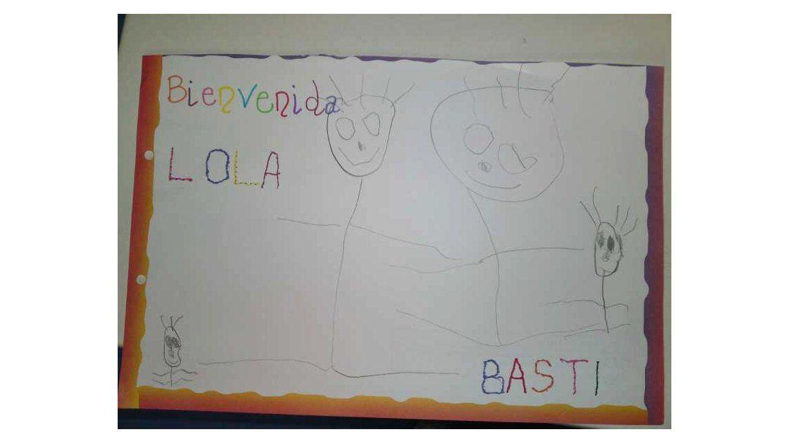 Nació Lola, la hija de Evangelina Anderson y Martín Demichelis