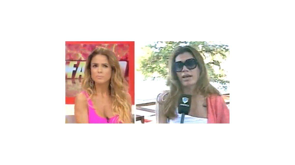 Florencia de la V vs Marina Calabró: gritos y discusión en vivo