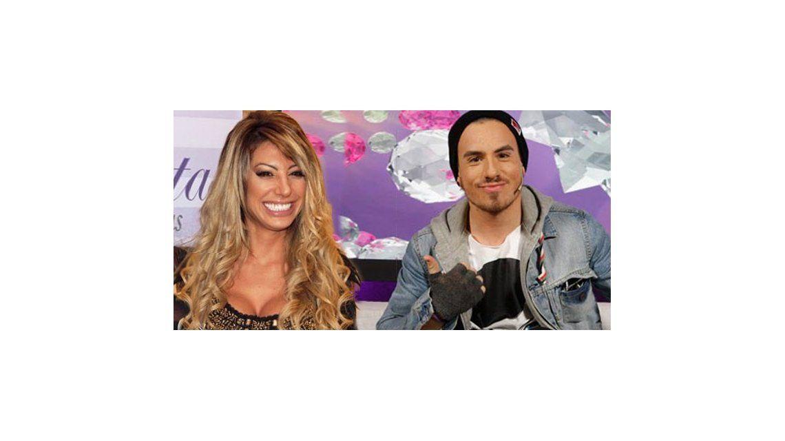 Federico Bal y Stefanía Xipolitakis a los besos con Carmen como testigo