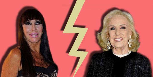 Moria Casán vs Mirtha Legrand: Que me ignore como yo la ignoro a ella