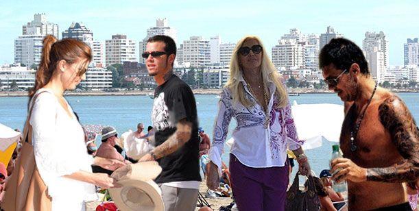 Punta del Este, la meca de los famosos argentinos en el verano 2013