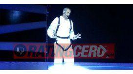 Jorge Rial debutó con su espectáculo