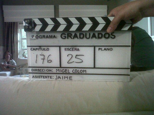 Se grabaron las últimas escenas de Graduados con la emoción del elenco