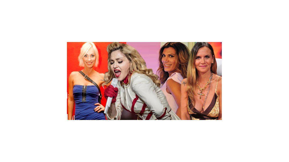 Los famosos que fueron a ver a Madonna