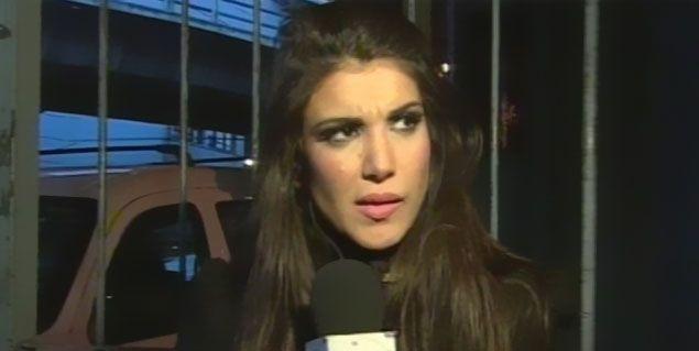 Andrea Rincón, afuera del Bailando 2012 y al borde de un ataque de nervios