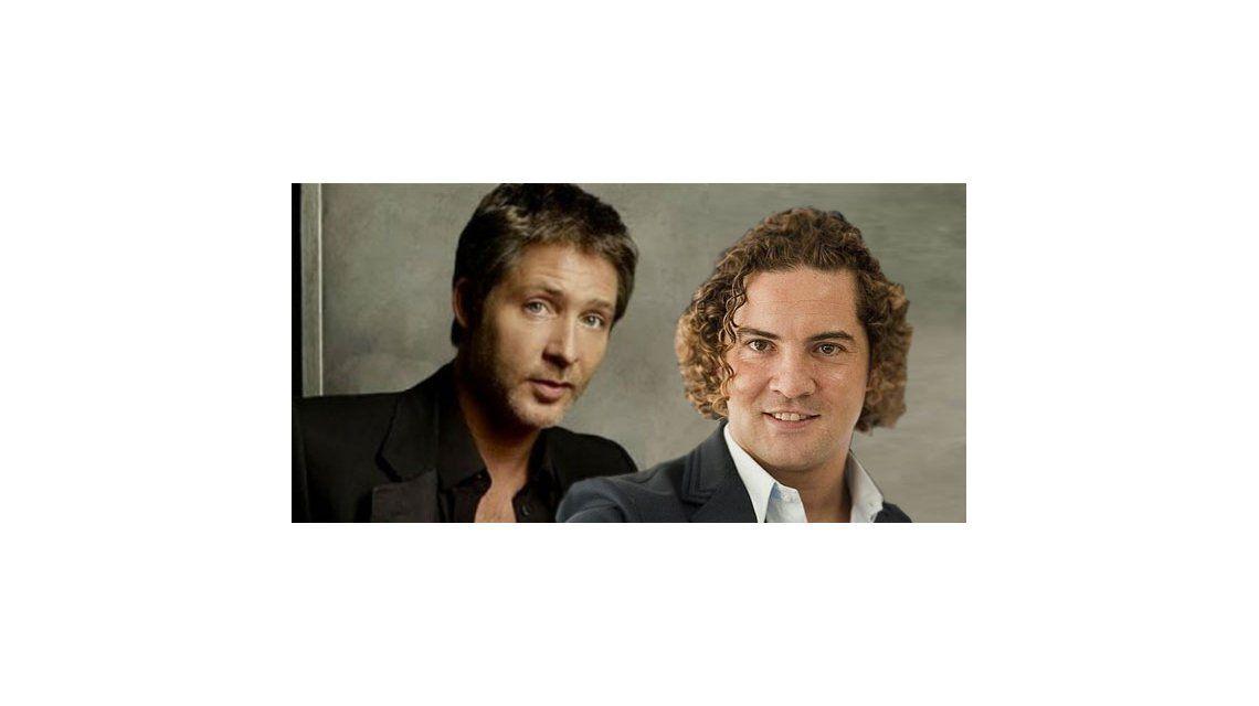 David Bisbal y Adrián Suar, juntos