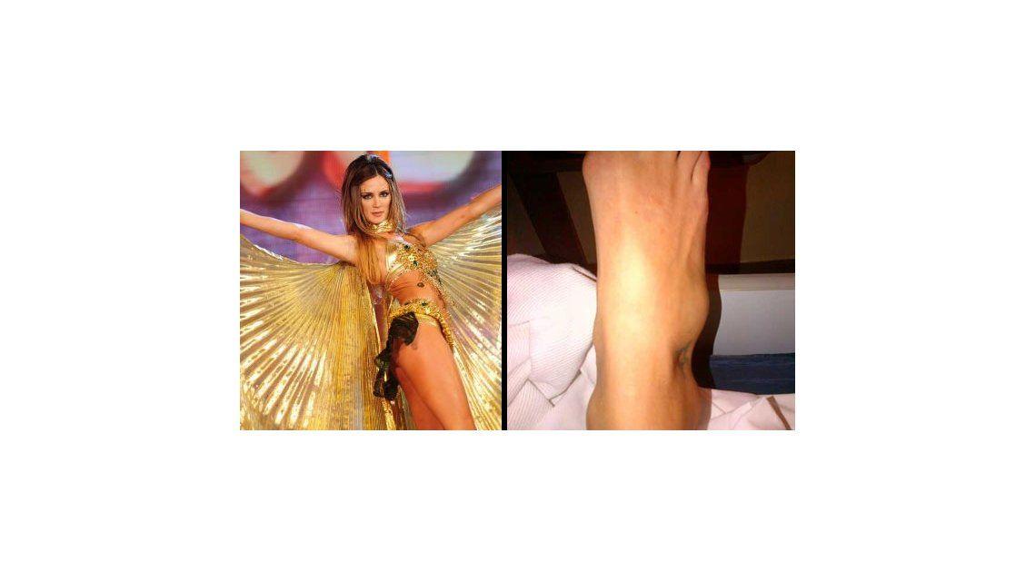Se lesionó Paula Chaves
