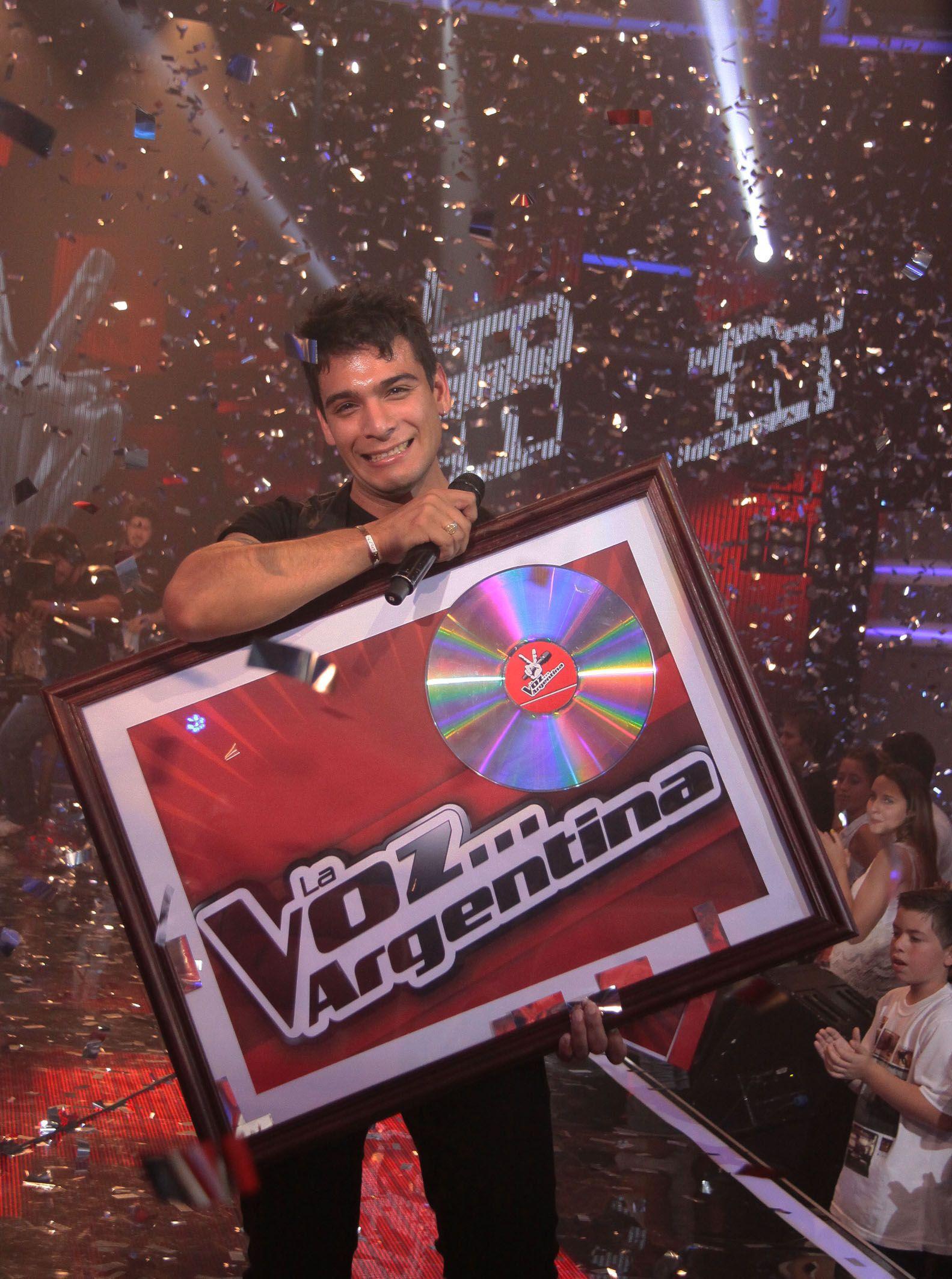 La voz Argentina: y el ganador del ciclo fue Gustavo Corvalán