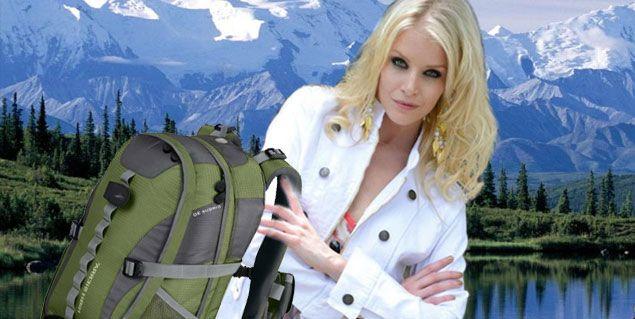 Alexandra Larsson, la sueca de Tinelli, de mochilera recorrerá el país
