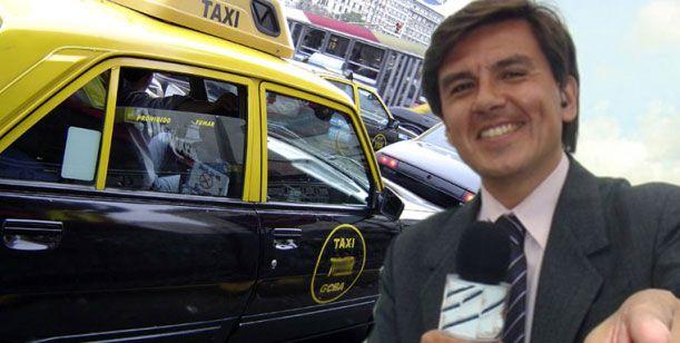 Ex notero hot de Crónica está sin trabajo y sacó licencia para conducir un taxi