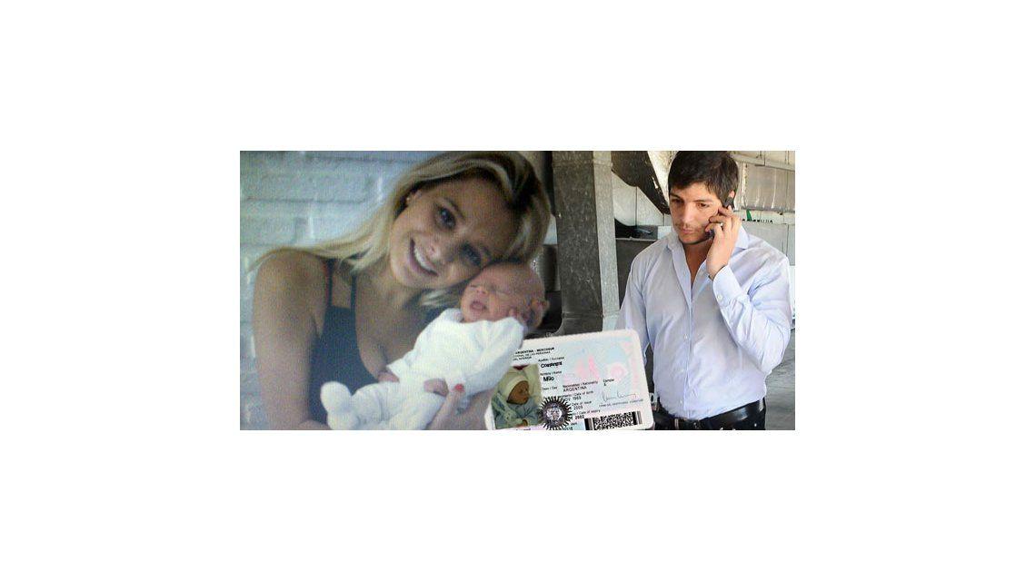 Tomás Costantini le dará el apellido al hijo que tuvo con Jimena Campisi
