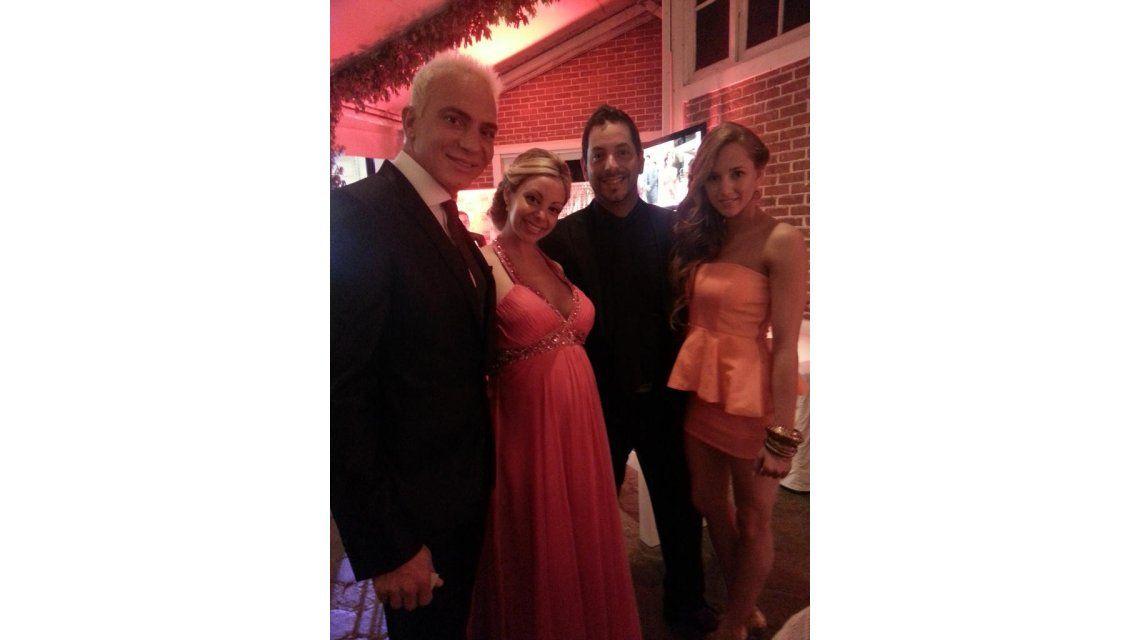 El look de los famosos en la Gala de los 20 años de la revista Caras