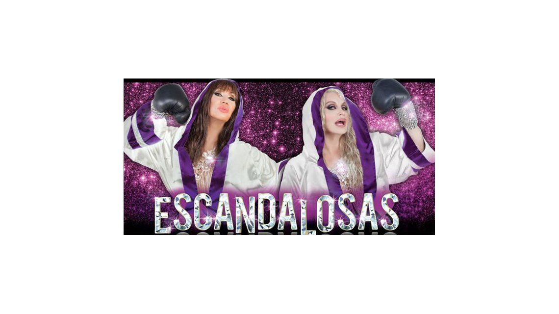 El back del estreno de Escandalosas en Mar del Plata