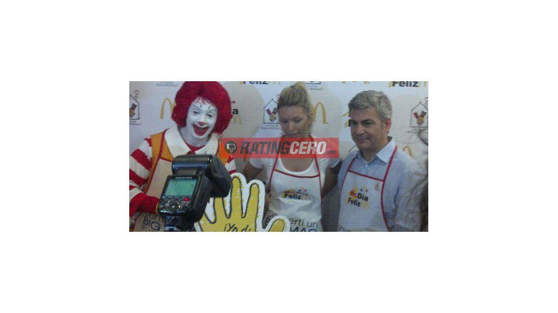 Los famosos colaboran hoy con la casa Ronald McDonald
