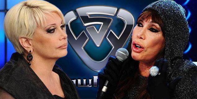 Carmen Barbieri y Moria Casán unidas por la furia anoche en Showmatch