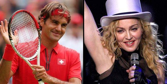 Madonna y Roger Federer, juntos en Buenos Aires en diciembre