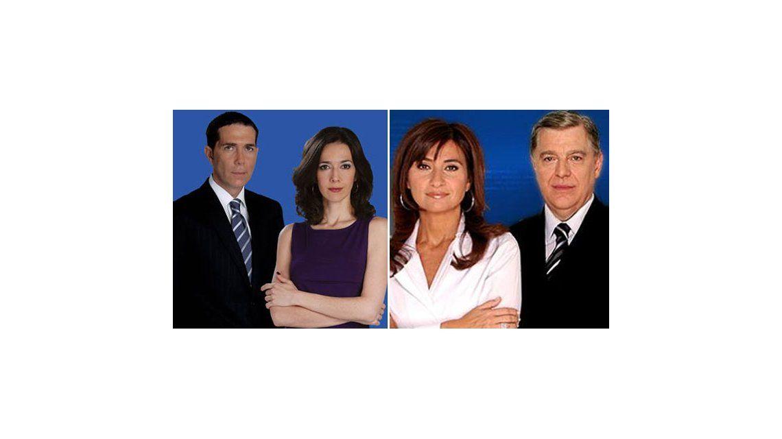 La competencia de la tarde del viernes: Telenoche 11.2; Telefé Noticias 9.6
