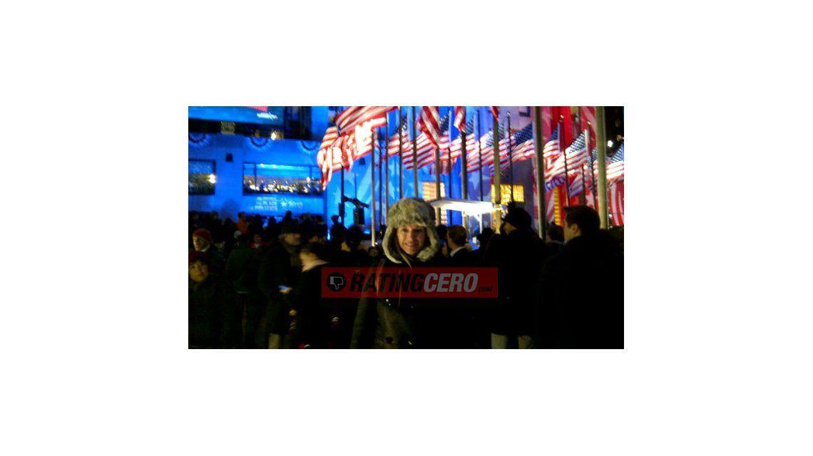 El viaje de novios a New York de Yanina y Diego Latorre