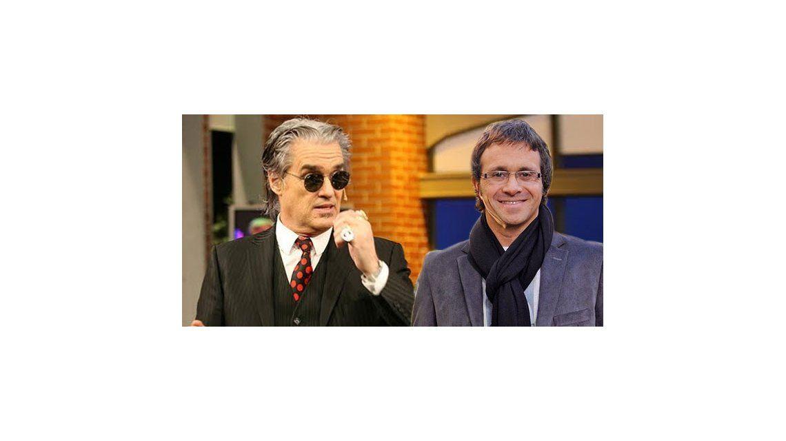 Roberto Pettinato y Sergio Lapegüe, de rivales a clientes