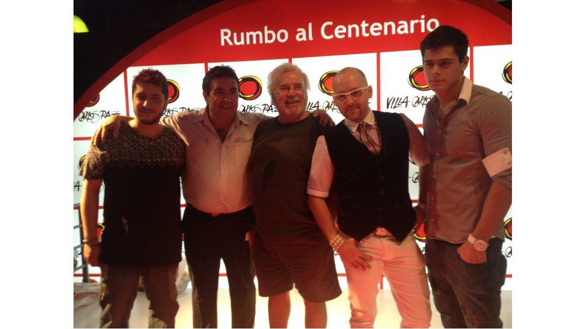 Los Grimaldi a Carlos Paz: primeras fotos