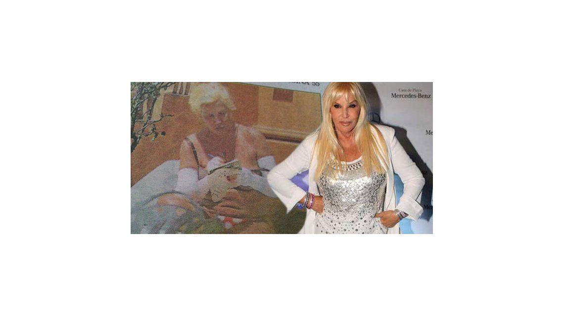 Los diarios se empeñan en mostrar a Susana con fotos de entrecasa