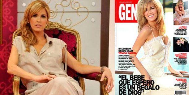 Viviana Canosa, embarazada, es la tapa de la revista Gente desde Miami