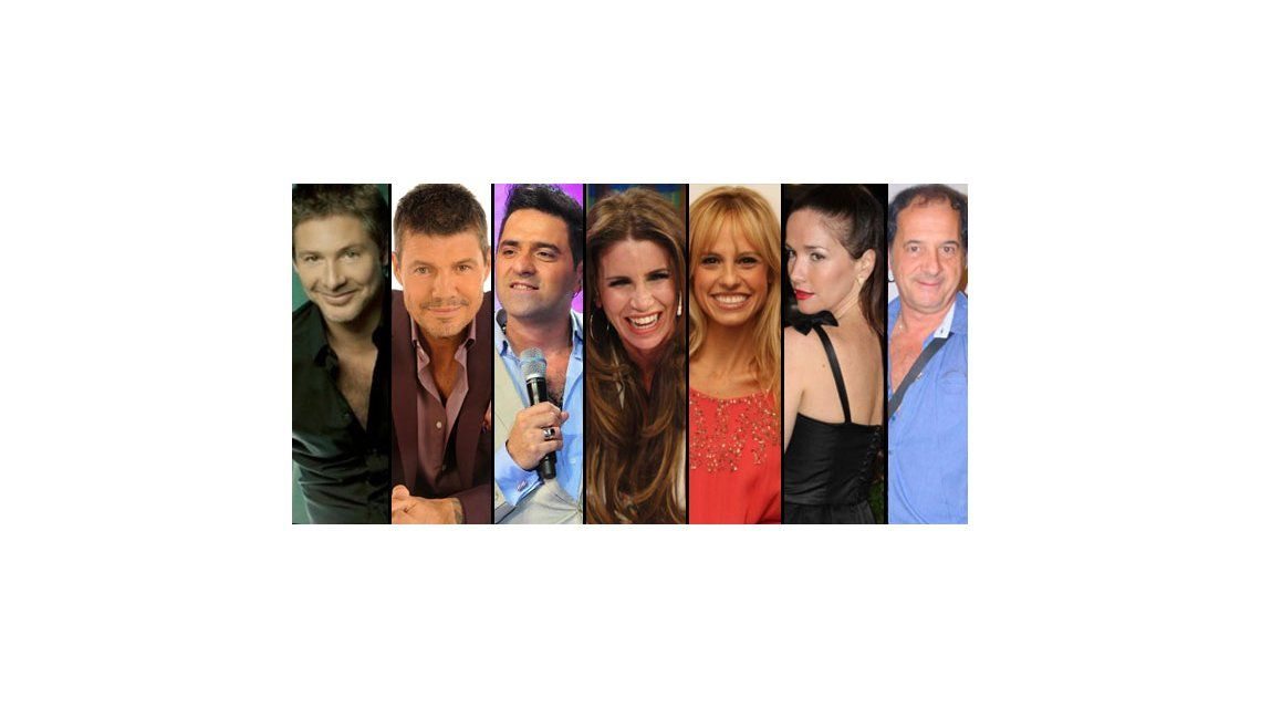 El Trece 2013: Suar, Tinelli, Iúdica, Peña, Fabbiani, Oreiro, Chávez; en un año clave