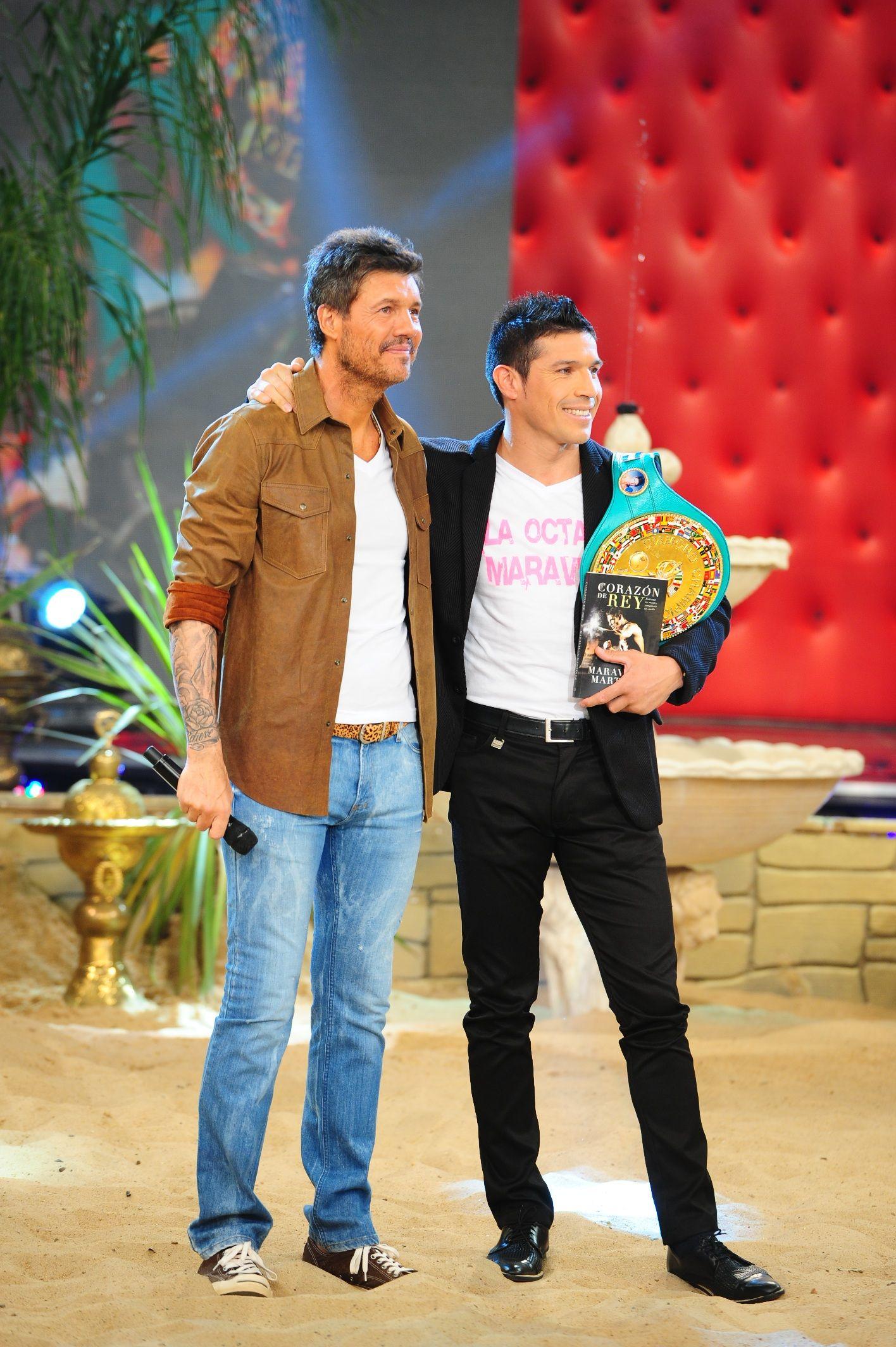 Maravilla Martínez con Tinelli: Mi próxima pelea será en Argentina