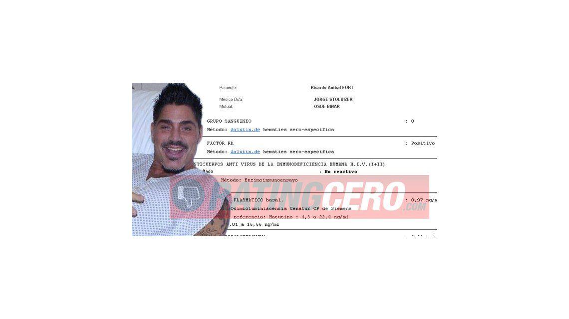 Ricardo Fort: No tengo SIDA