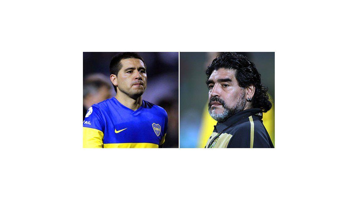 Vidas paralelas: Maradona y Riquelme, los secretos de  sus hijos no reconocidos