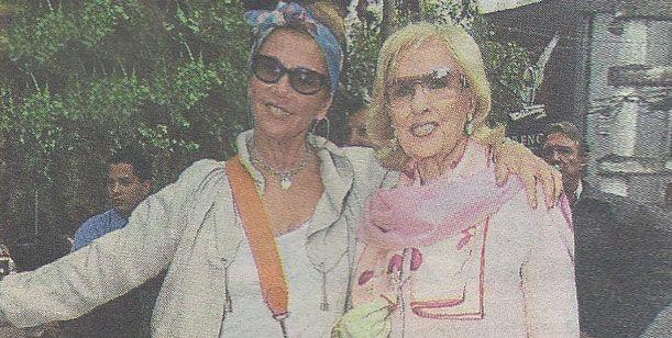 Mirtha Legrand reunió a toda su familia para festejar el día de la madre