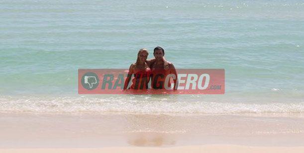 La romántica luna de miel de Nazarena Vélez y Fabián Rodríguez