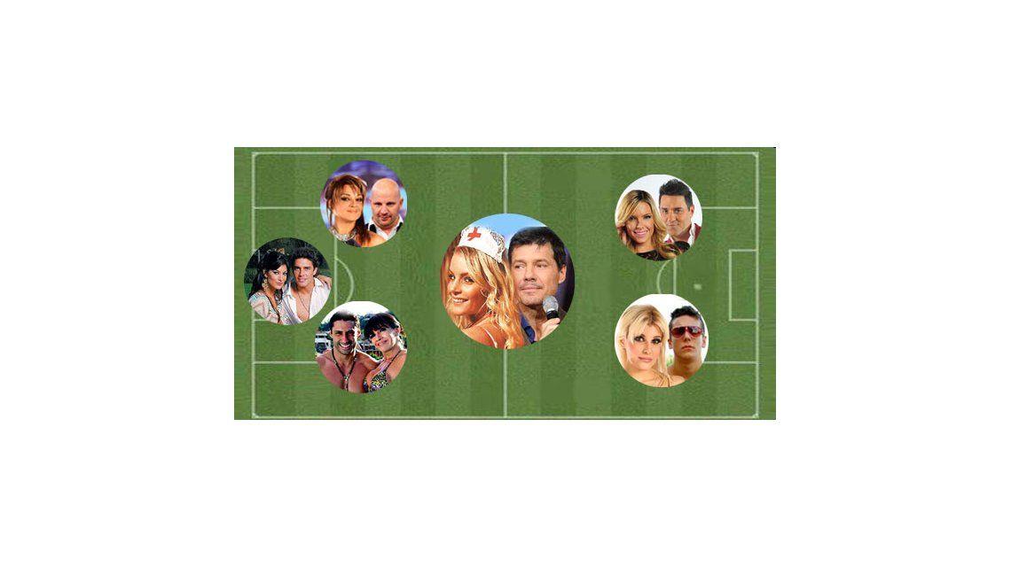 Marcelo y su cuadrangular de fútbol