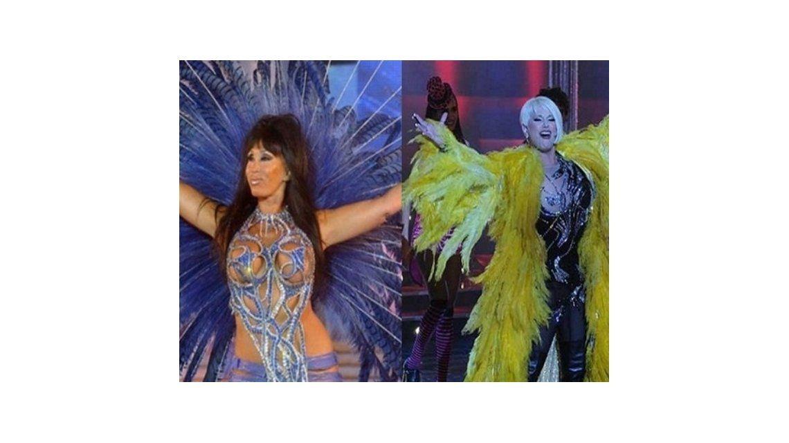 Escandalosas ensayan; Carmen será un varón y bailará mambo con Moria