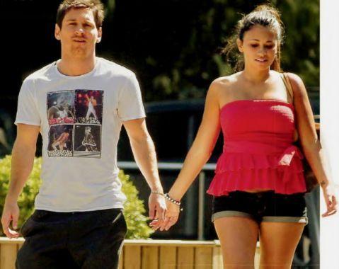 Messi: Estoy ansioso por tener a mi hijo en brazos