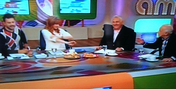 Sofovich debutó como panelista estrella de AM en medio de una polémica